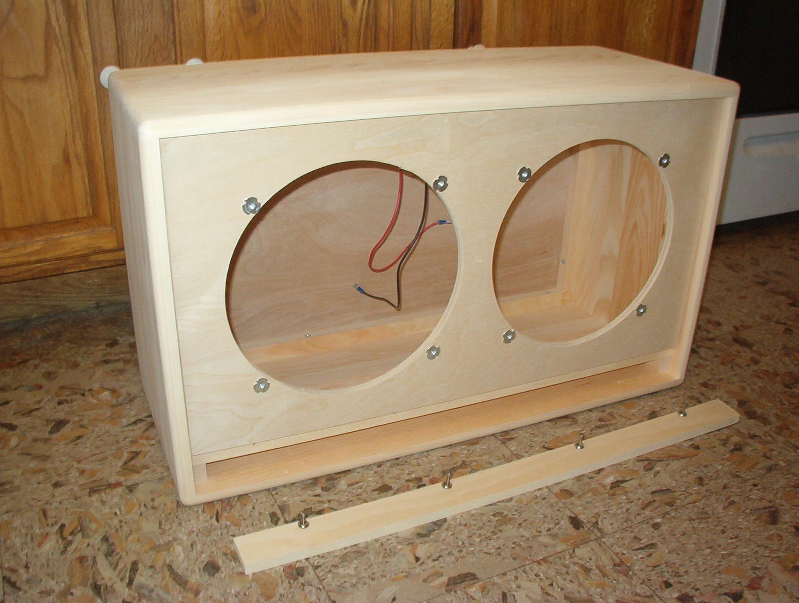 1x12 Guitar Cabinet Empty Trm Home