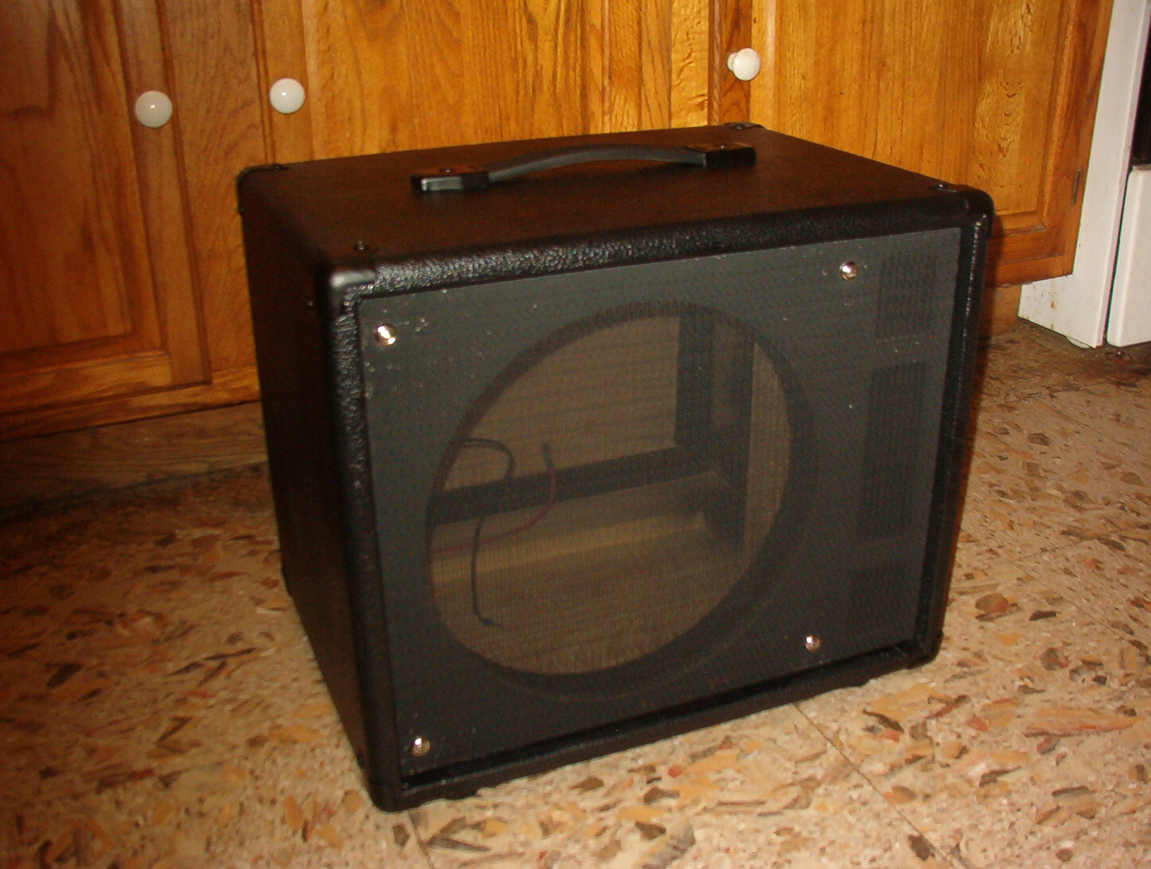 Ported Cabs Wiring 1x12 Guitar Cabinet Finished Tolexed